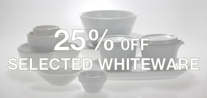 25% Off Selected Whitewear